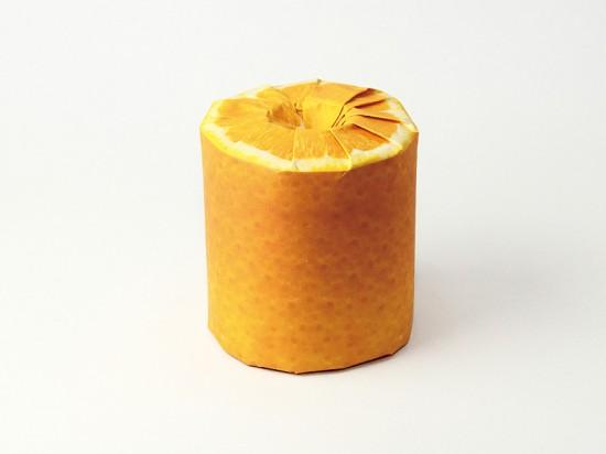 Thích thú với những cuộn giấy vệ sinh có hình trái cây 5