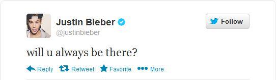 Justin Bieber lo sợ Selena sẽ bỏ mình lần nữa 2