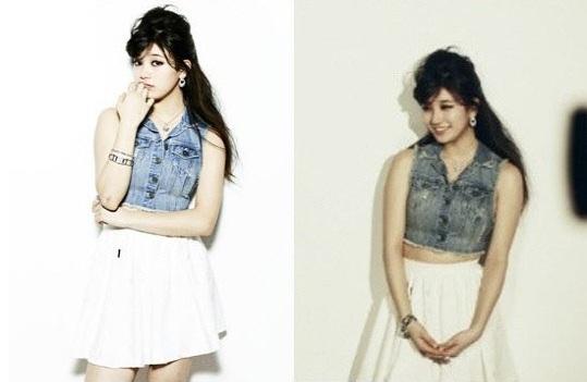 Loạt ảnh Suzy (Miss A) đẹp không cần photoshop 4