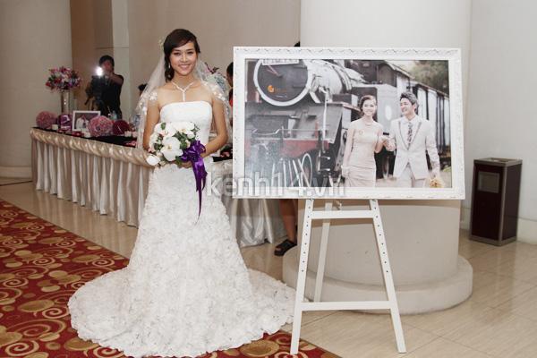 Những đám cưới hoành tráng của các hot girl Việt 67