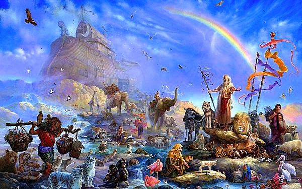 Tương lai con người sau những Ngày Tận thế theo thần thoại 6