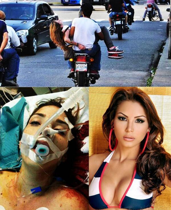 Hoa hậu Du lịch 2013 Venezuela bị bắn chết trên đường phố 1