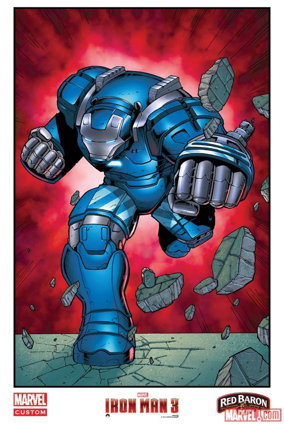 """""""Iron Man 3"""" khoe dàn xế khủng 2"""