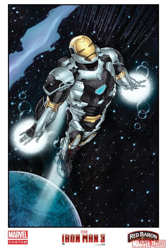 """""""Iron Man 3"""" khoe dàn xế khủng 3"""