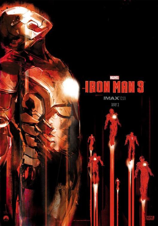 """""""Iron Man 3"""" khoe dàn xế khủng 1"""