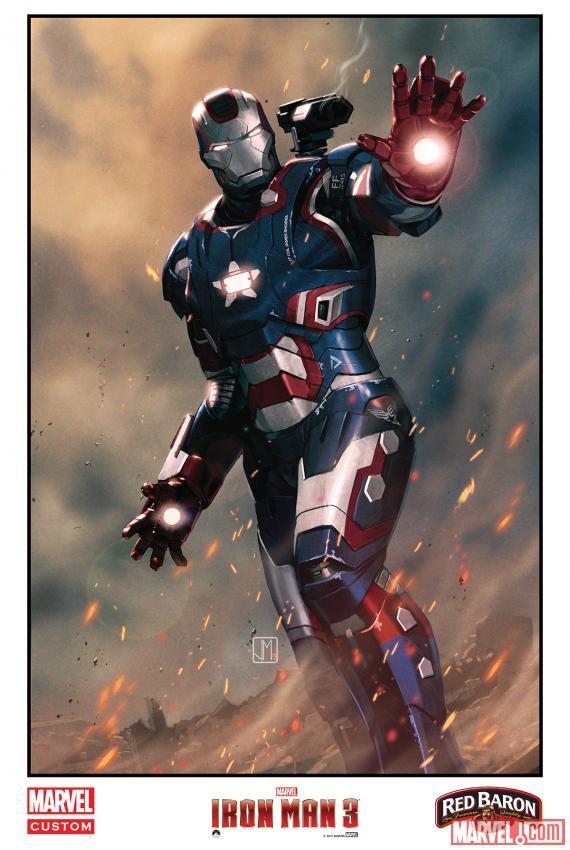 """""""Iron Man 3"""" khoe dàn xế khủng 4"""