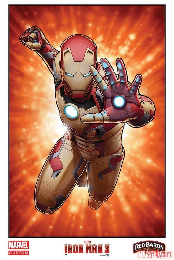 """""""Iron Man 3"""" khoe dàn xế khủng 5"""