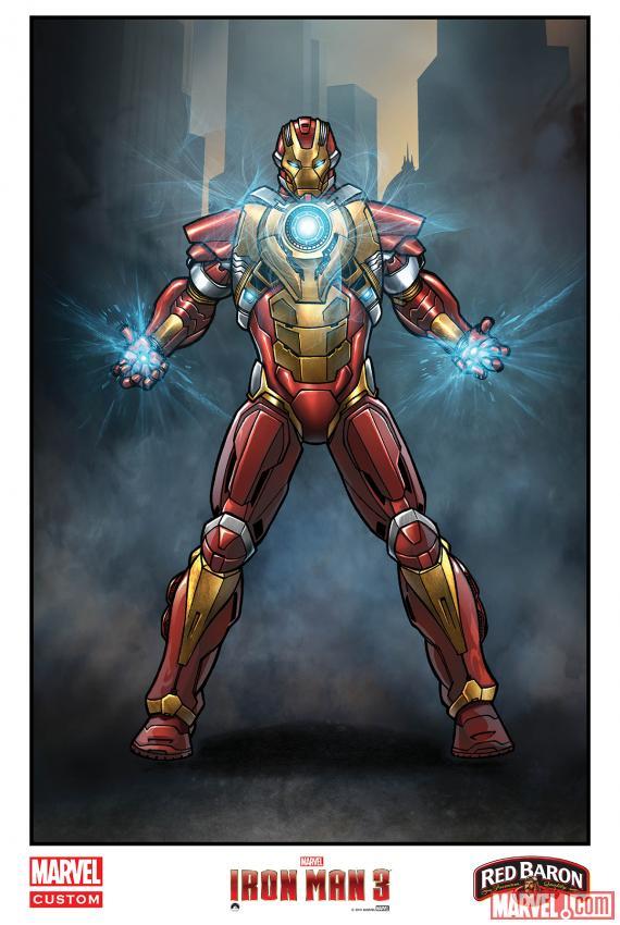 """""""Iron Man 3"""" khoe dàn xế khủng 6"""