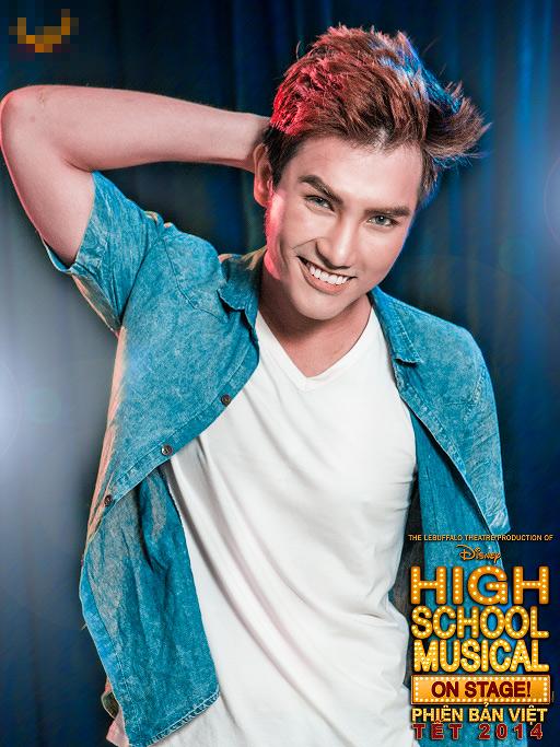 """Tạo hình sặc sỡ chất kịch của """"High School Musical"""" phiên bản Việt 3"""