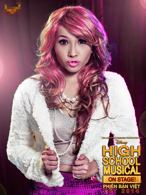 """Tạo hình sặc sỡ chất kịch của """"High School Musical"""" phiên bản Việt 7"""