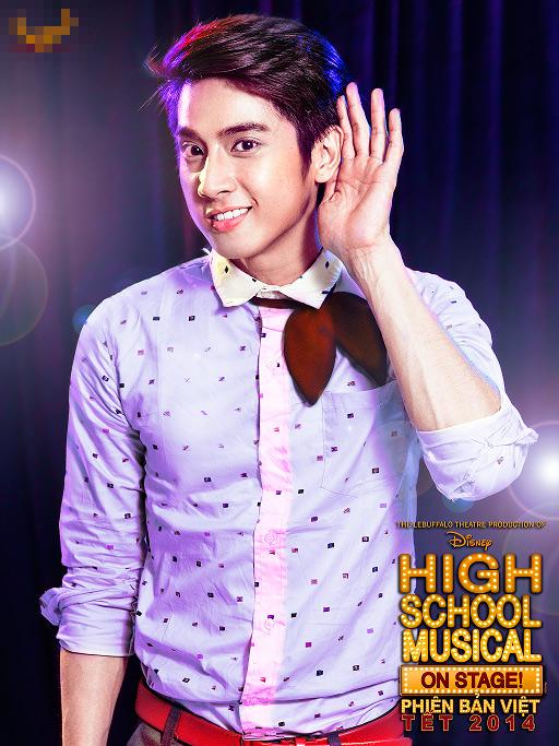 """Tạo hình sặc sỡ chất kịch của """"High School Musical"""" phiên bản Việt 8"""
