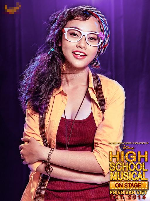 """Tạo hình sặc sỡ chất kịch của """"High School Musical"""" phiên bản Việt 11"""