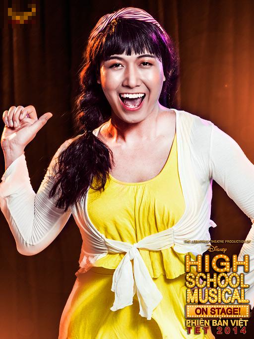 """Tạo hình sặc sỡ chất kịch của """"High School Musical"""" phiên bản Việt 12"""