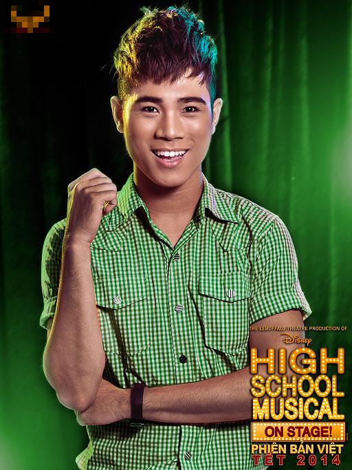 """Tạo hình sặc sỡ chất kịch của """"High School Musical"""" phiên bản Việt 13"""