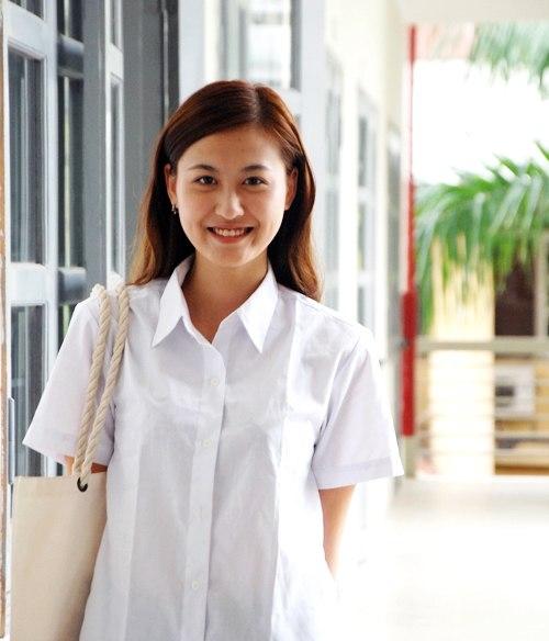 Ngắm hot girl Việt mặc đồng phục giản dị nhưng vẫn cực xinh 28