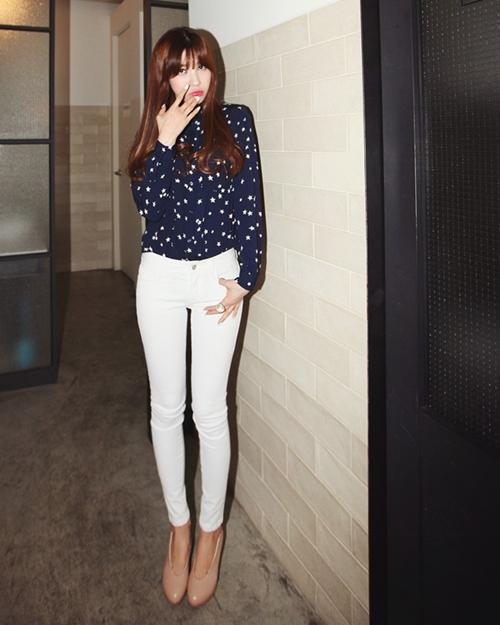 Nắm bắt nhanh xu hướng quần skinny năm 2013 2