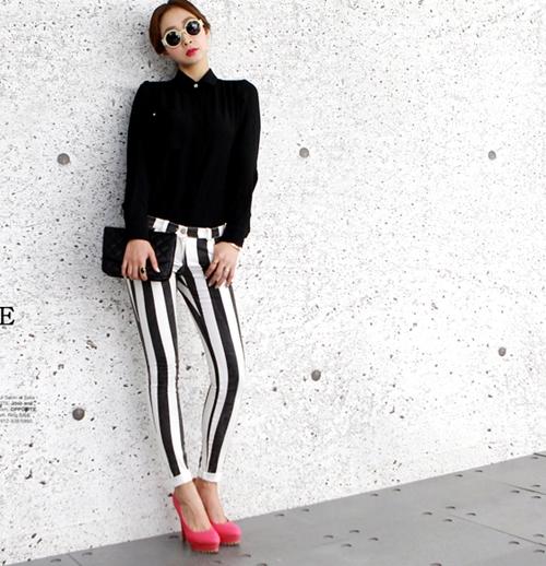 Nắm bắt nhanh xu hướng quần skinny năm 2013 12