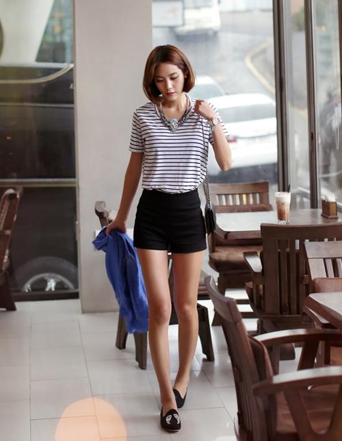 101 kiểu phối đồ cùng giày đế bệt phong cách như Jessica - SNSD 12