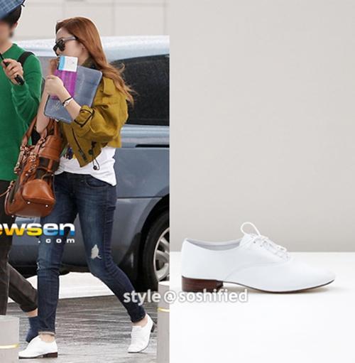 101 kiểu phối đồ cùng giày đế bệt phong cách như Jessica - SNSD 2