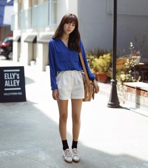 101 kiểu phối đồ cùng giày đế bệt phong cách như Jessica - SNSD 20
