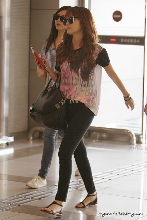 101 kiểu phối đồ cùng giày đế bệt phong cách như Jessica - SNSD 27