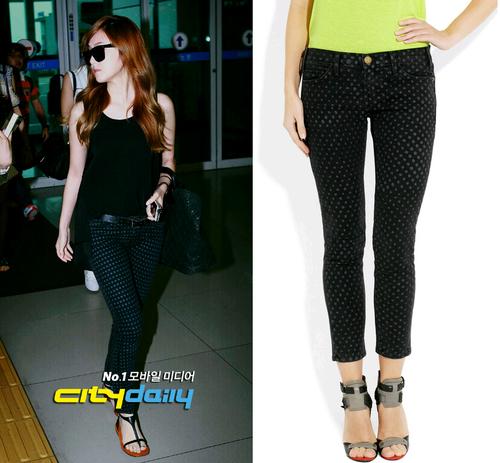 101 kiểu phối đồ cùng giày đế bệt phong cách như Jessica - SNSD 28
