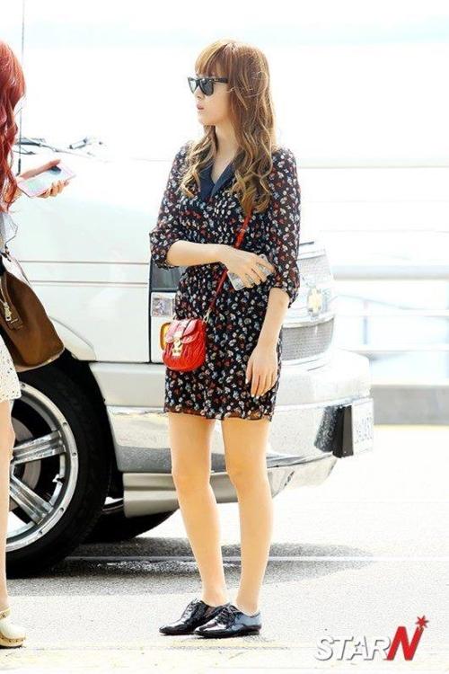 101 kiểu phối đồ cùng giày đế bệt phong cách như Jessica - SNSD 5