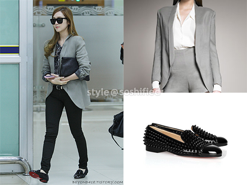 101 kiểu phối đồ cùng giày đế bệt phong cách như Jessica - SNSD 8