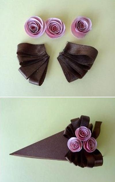 Tự chế hộp quà miếng bánh ngọt ngào đáng yêu 7
