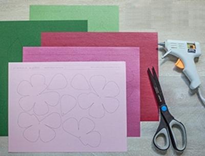 Ý tưởng làm tranh hoa hồng giấy đi tỏ tình lãng mạn 1