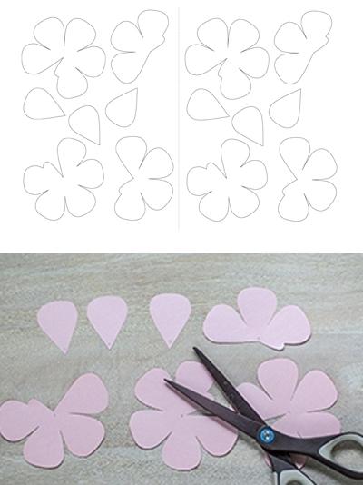 Ý tưởng làm tranh hoa hồng giấy đi tỏ tình lãng mạn 2
