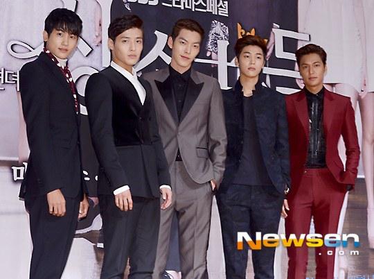 """Lee Min Ho """"nổi chói lọi"""" giữa dàn sao """"The Heirs"""" 9"""