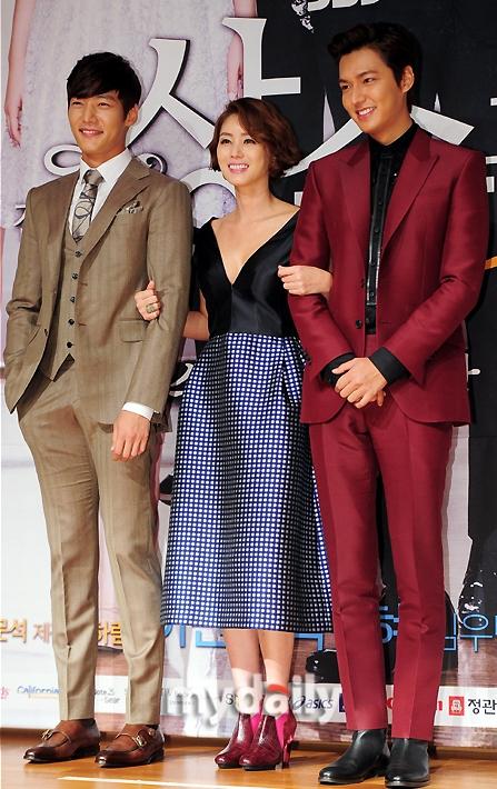 """Lee Min Ho """"nổi chói lọi"""" giữa dàn sao """"The Heirs"""" 12"""
