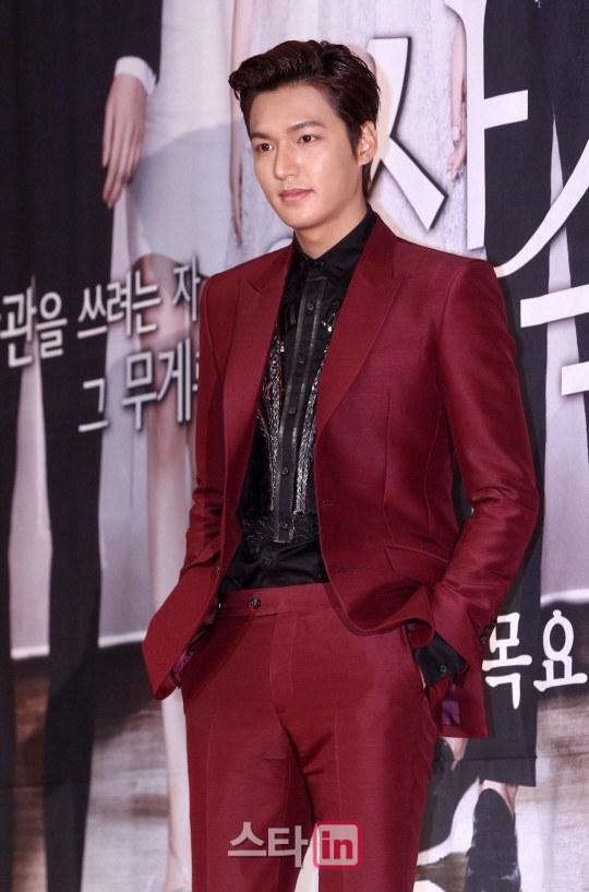 """Lee Min Ho """"nổi chói lọi"""" giữa dàn sao """"The Heirs"""" 1"""