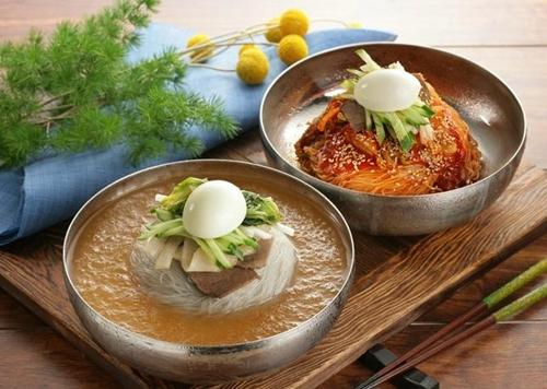 Mì lạnh Hàn Quốc - li kì và hấp dẫn 1