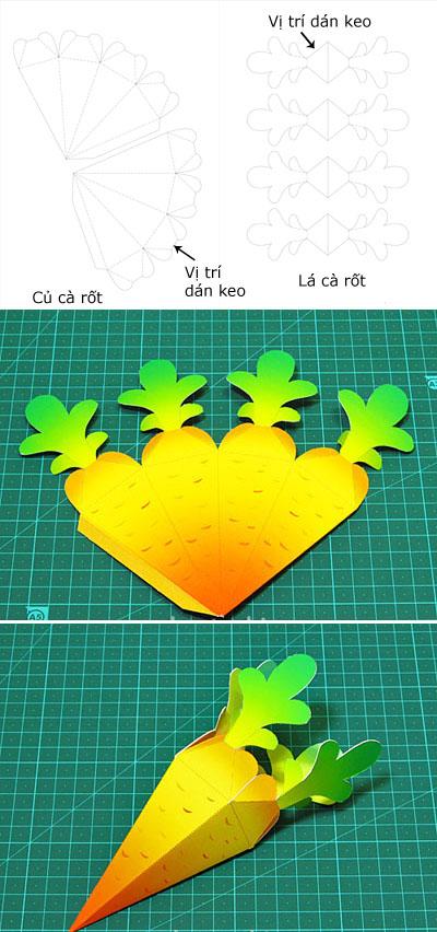 Ý tưởng hộp quà khu vườn cà rốt đáng yêu 7