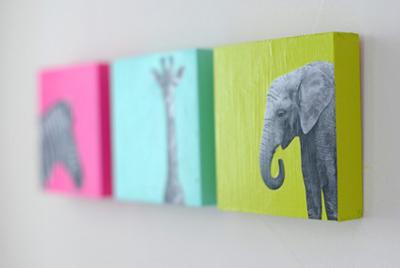 Ý tưởng làm bộ sưu tập tranh treo tường giản đơn bất ngờ 6
