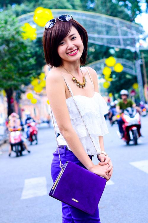 Muôn kiểu phong cách thời trang của sao Việt với tóc ngắn 32