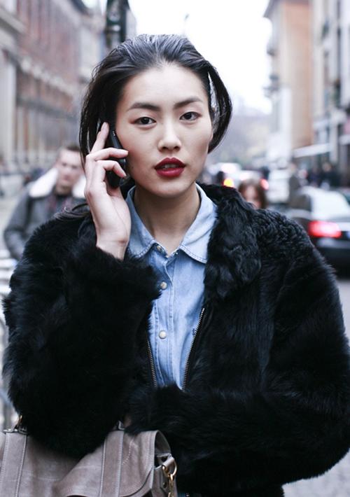 Phong cách cá tính, thời thượng của siêu mẫu số 1 châu Á - Liu Wen 1