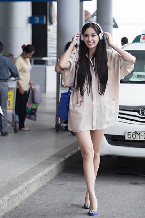 Sao Amp Hot Girl Việt đồng Loạt Quot Giấu Quần Quot Với Sơmi Oversized