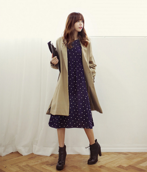 Chọn áo khoác hoàn hảo cho từng dáng váy 13