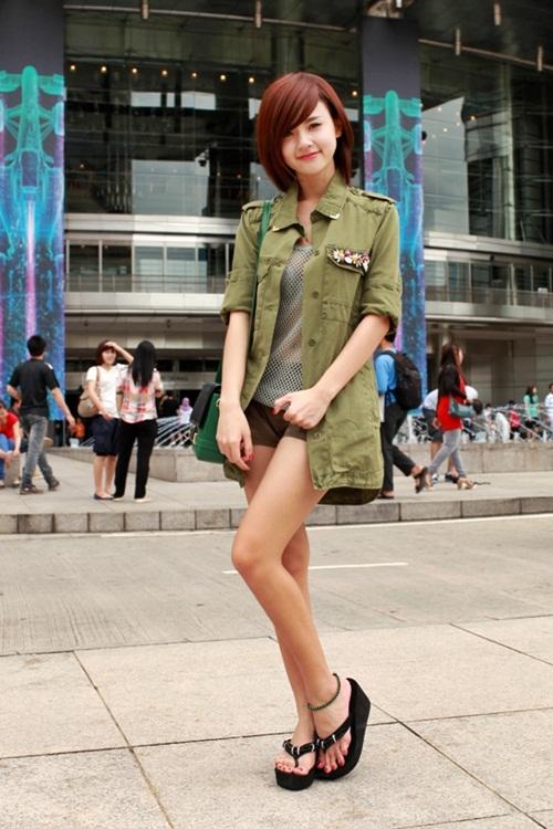 Muôn kiểu phong cách thời trang của sao Việt với tóc ngắn 28