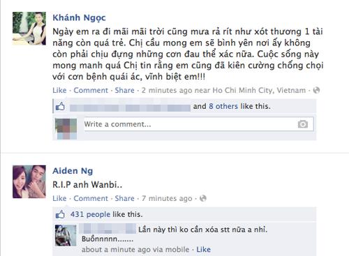 Sao Việt tiếc thương sự ra đi của Wanbi Tuấn Anh 9