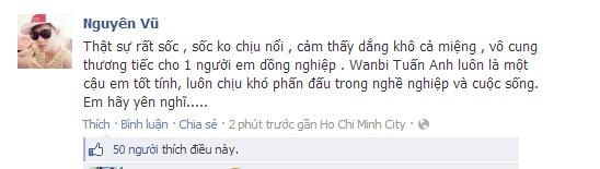 Sao Việt tiếc thương sự ra đi của Wanbi Tuấn Anh 11