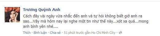 Sao Việt tiếc thương sự ra đi của Wanbi Tuấn Anh 12