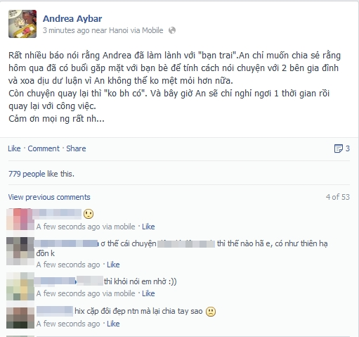 "Chuyện tình Yanbi - Andrea, ""trai đẹp"" Omar gây bão Facebook 8"