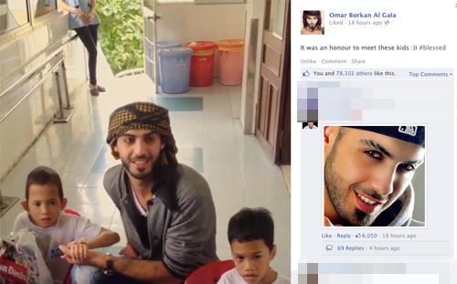 "Chuyện tình Yanbi - Andrea, ""trai đẹp"" Omar gây bão Facebook 15"