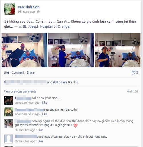 Cao Thái Sơn bức xúc trước tin đồn sang Mỹ phẫu thuật chuyển giới 1
