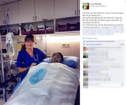 Cao Thái Sơn bức xúc trước tin đồn sang Mỹ phẫu thuật chuyển giới 2
