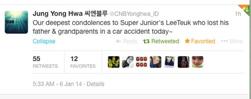Dàn sao Hàn bật khóc chia buồn cùng Leeteuk và gia đình 7